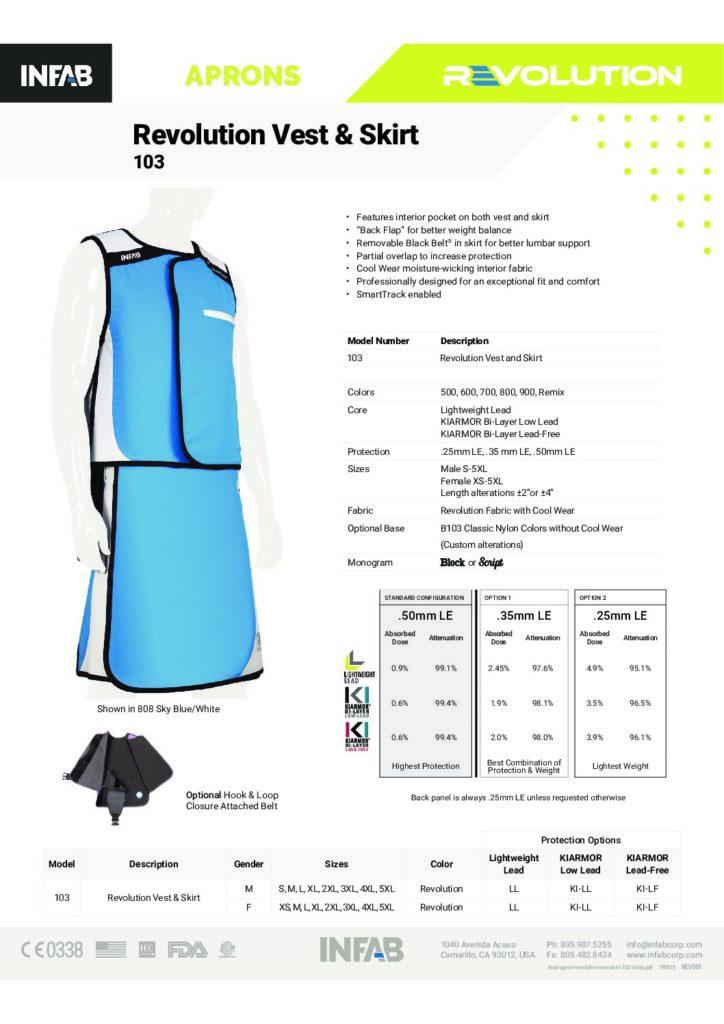 Revolution Vest & Skirt - 103